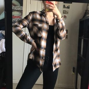 Yellow Toned Flannel